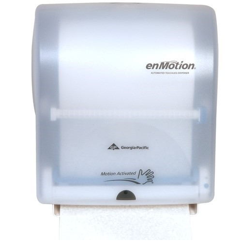 Touchless Towel Dispenser ~ Enmotion wall mount automated touchless towel dispenser